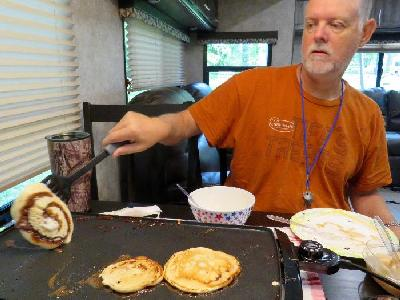 4 Day RV Camping Menu