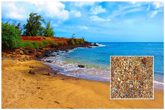 The Sea Glass on Glass Beach