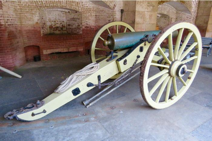 A Cannon at Fort Point