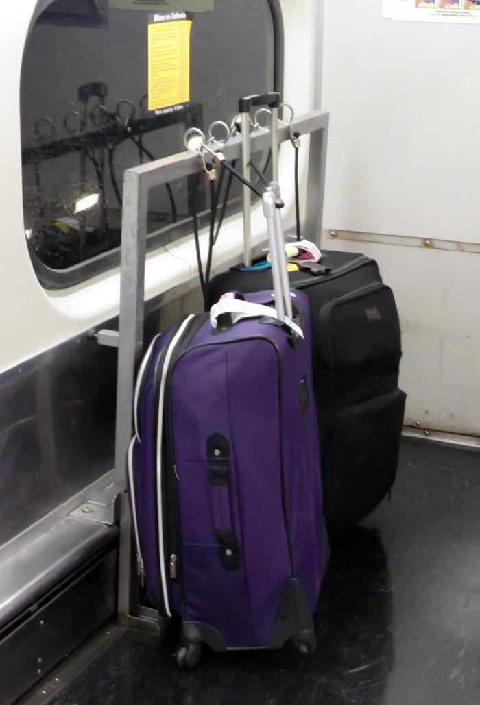 Don't Make the Mistake of using the Bicycle Bars for Luggage!