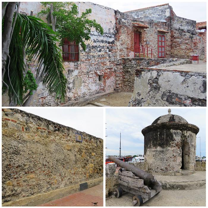 The Walls of Old Town Cartagena