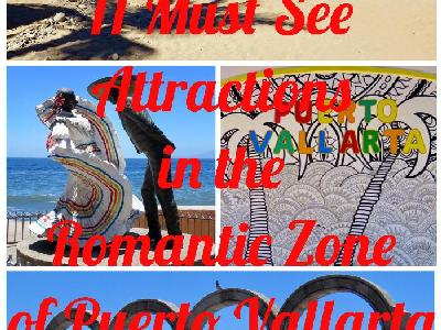 11 Must See Attractions in the Romantic Zone of Puerto Vallarta