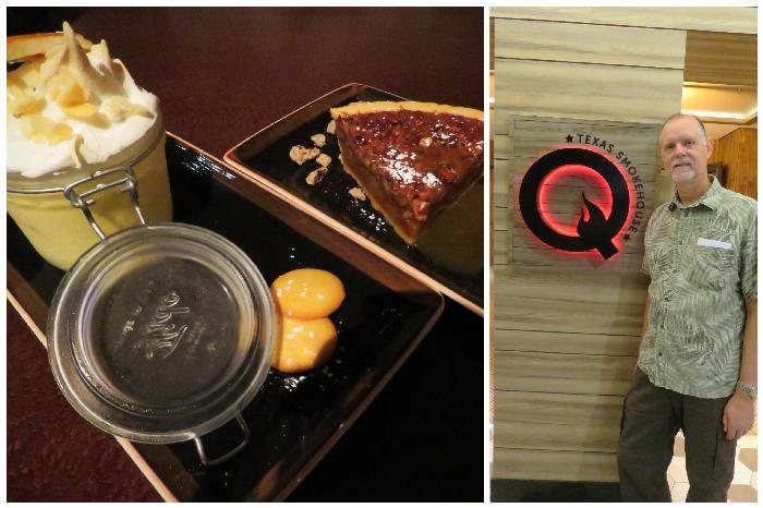 Dinner & Dessert at Q Texas Smokehouse
