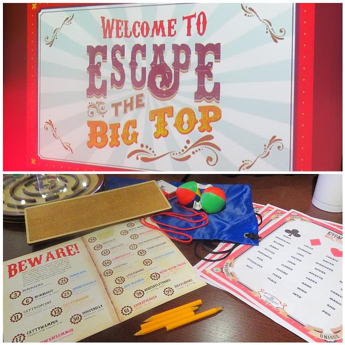 Escape the Big Top