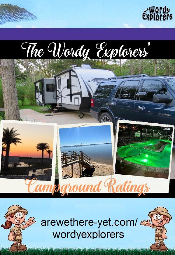 Wordy Explorers Campground Ratings