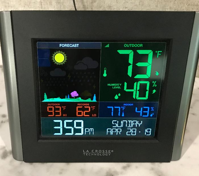 Indoor-Outdoor Weather Station