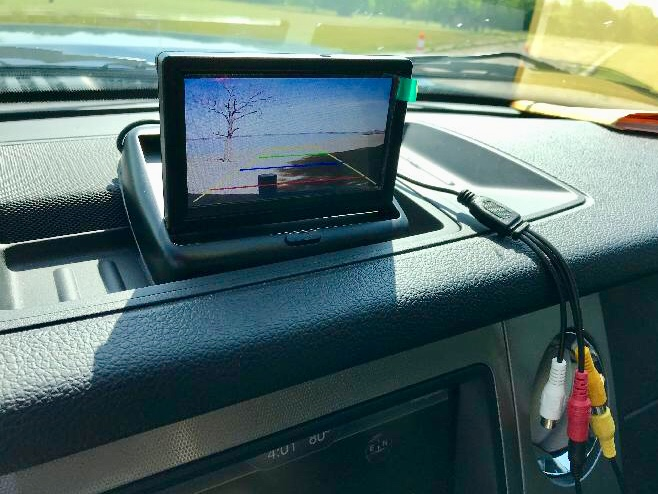 Rear-View Camera Dash Display