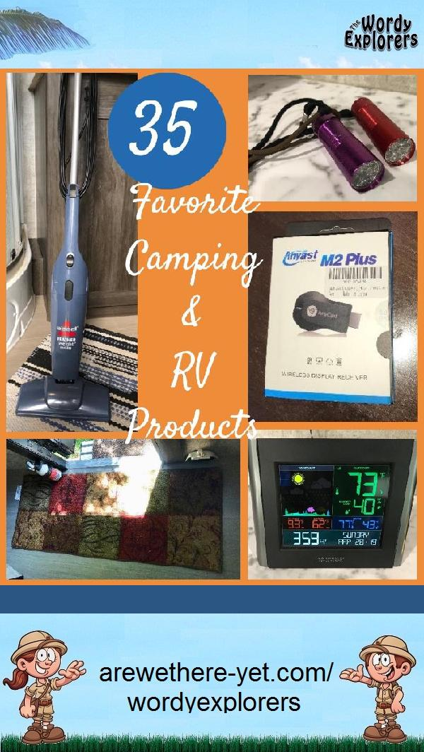 35 Favorite Camping and RV Products