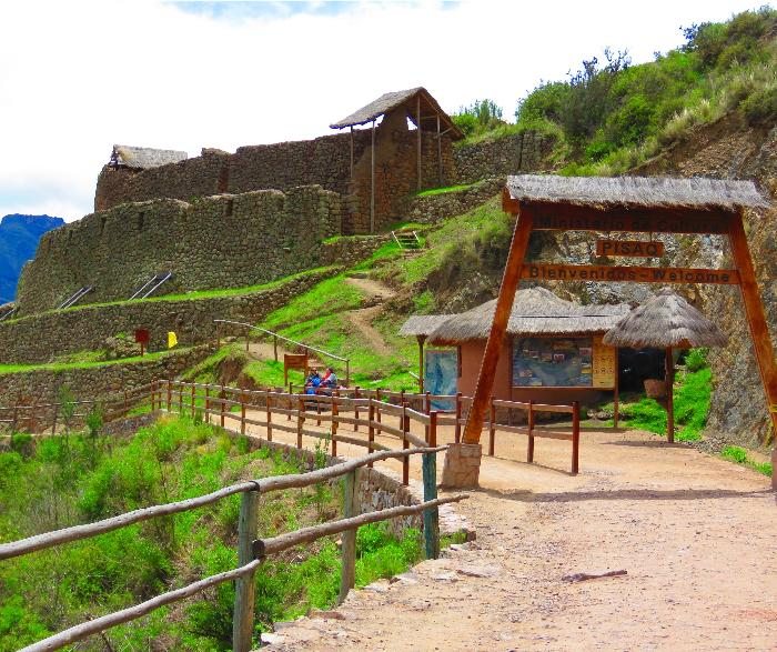 Entrance to Pisac Ruins