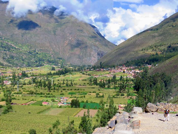 View of Ollantaytambo Valley