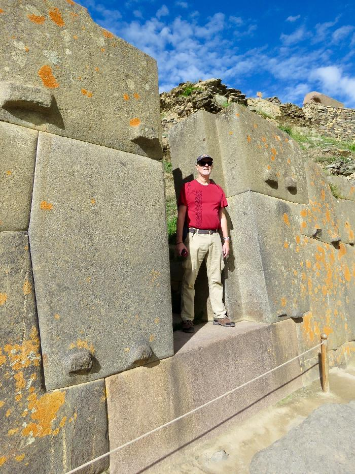 Huge Stones at Ollantaytambo Ruins