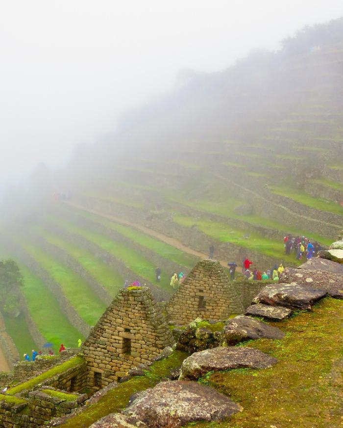Looking Toward the Agricultural Sector of Machu Picchu