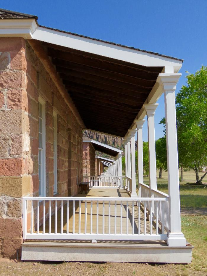Officers' Row at Fort Davis National Historic Site