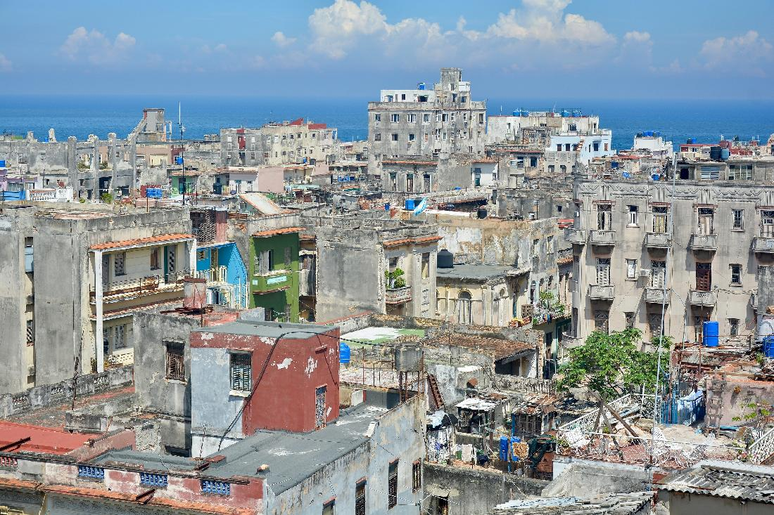Rooftop View of Havana (photographed by Yosel Vazquez)