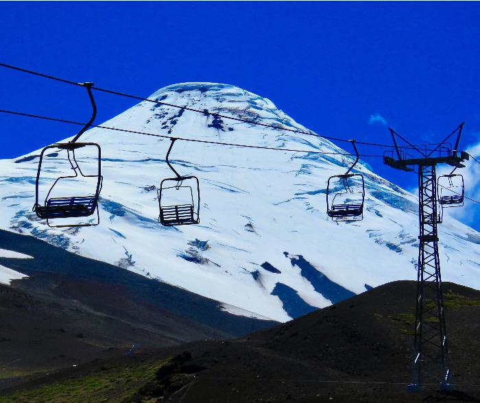 Optional Chair Lifts at Volcan Osorno
