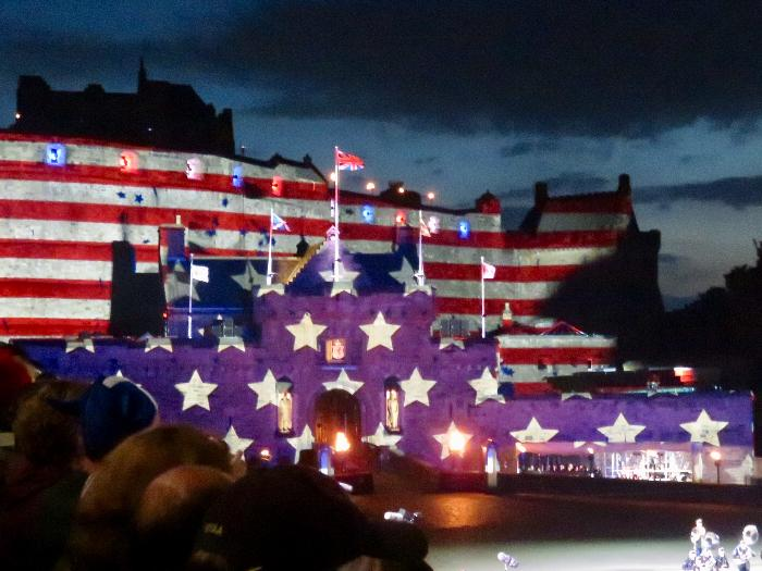Royal Edinburgh Military Tattoo at Scotland's Edinburgh Castle