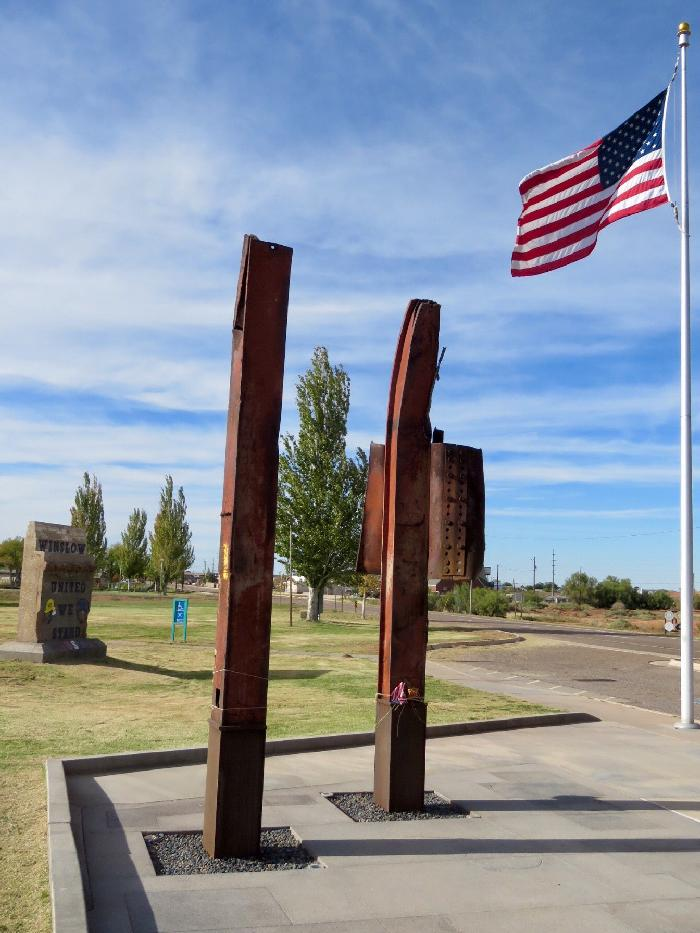 Remembrance Garden in Winslow, Arizona