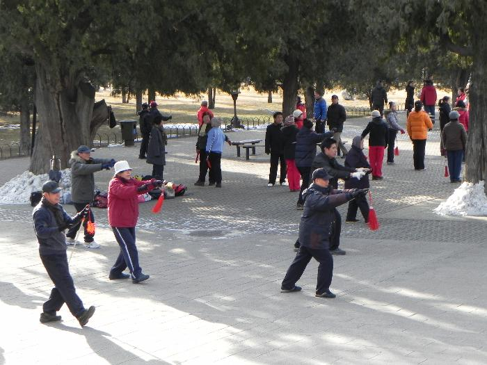 Tai Chi at Temple of Heaven