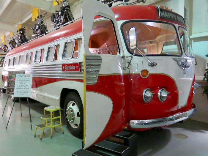 1948 Flxible Bus from movie RV starring Robin Williams