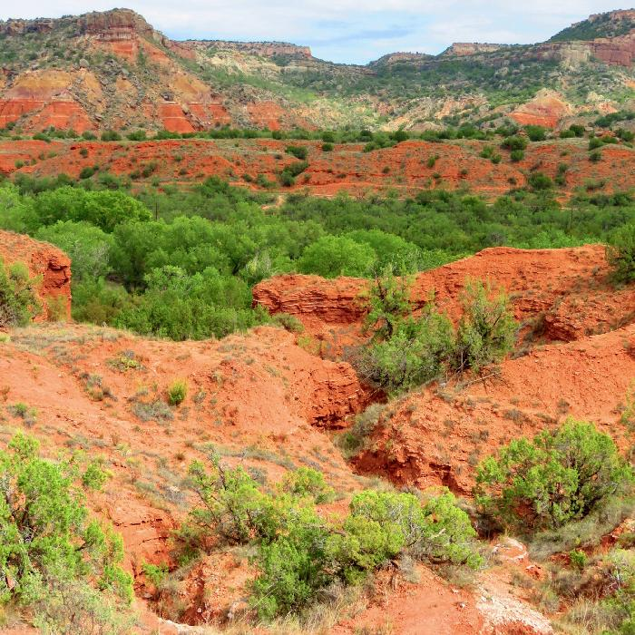 Seeing the Geology of Palo Duro Canyon