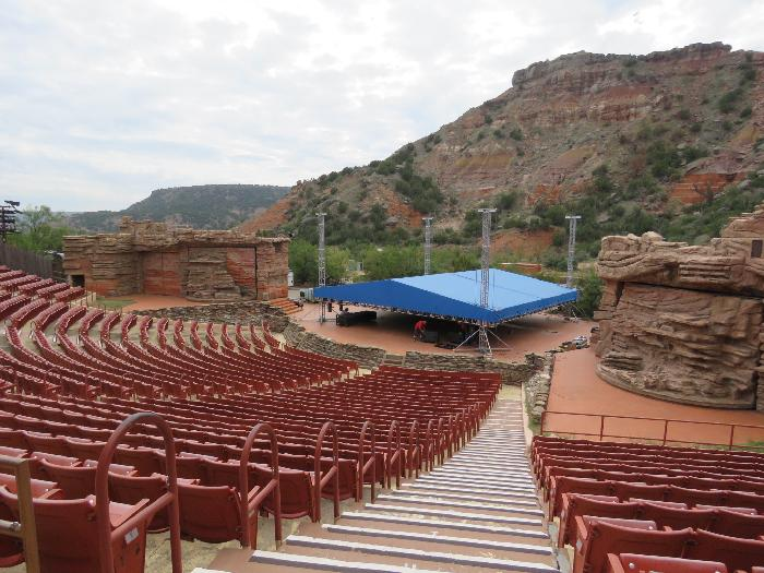 Pioneer Amphitheater at Palo Duro Canyon State Park