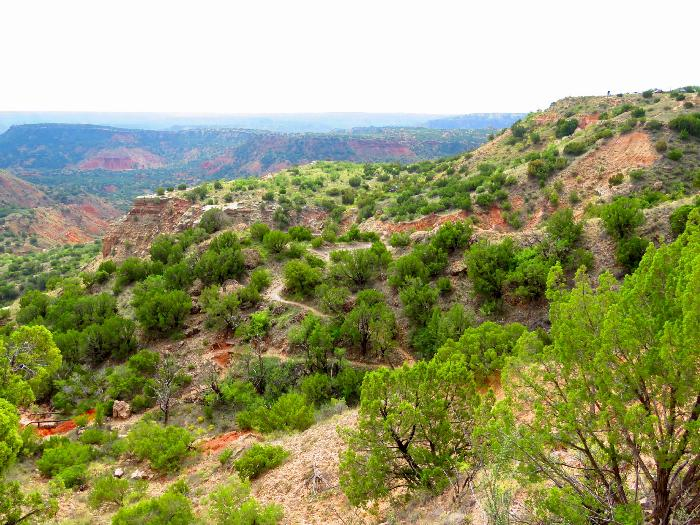 CCC Trail at Palo Duro Canyon State Park