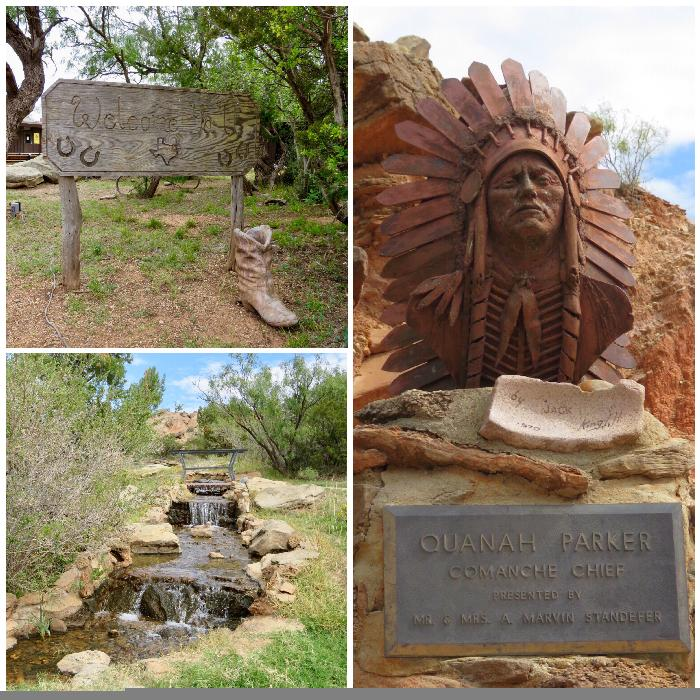 Grounds of Pioneer Amphitheater at Palo Duro Canyon State Park