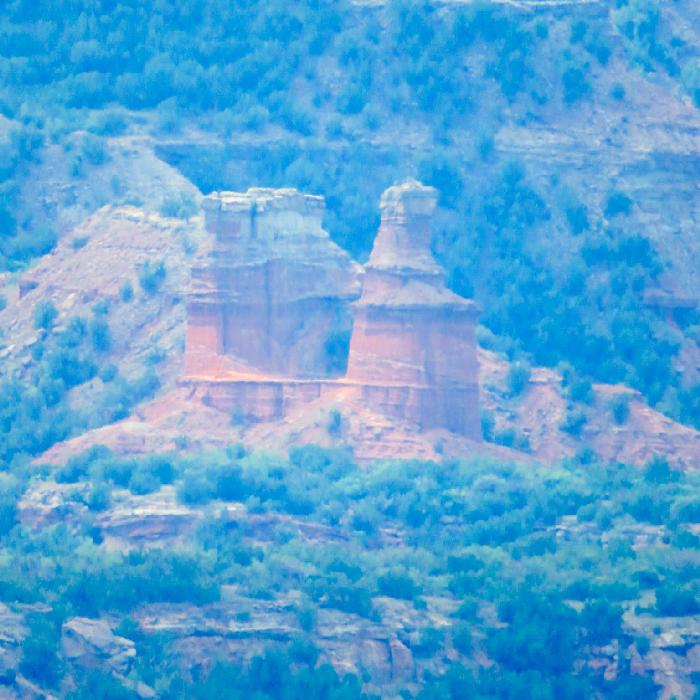 The Lighthouse, Palo Duro Canyon's most famous formation