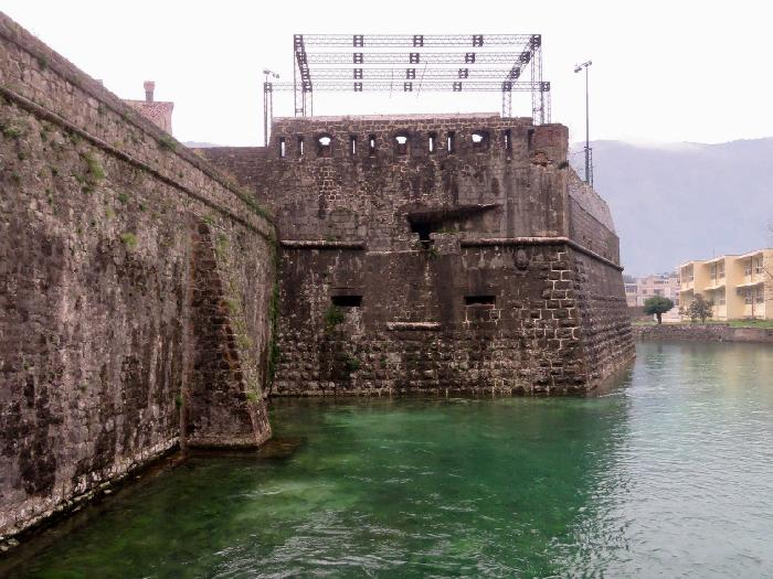 The Walls of Old Town Kotor from Outside the Gurdic Gate