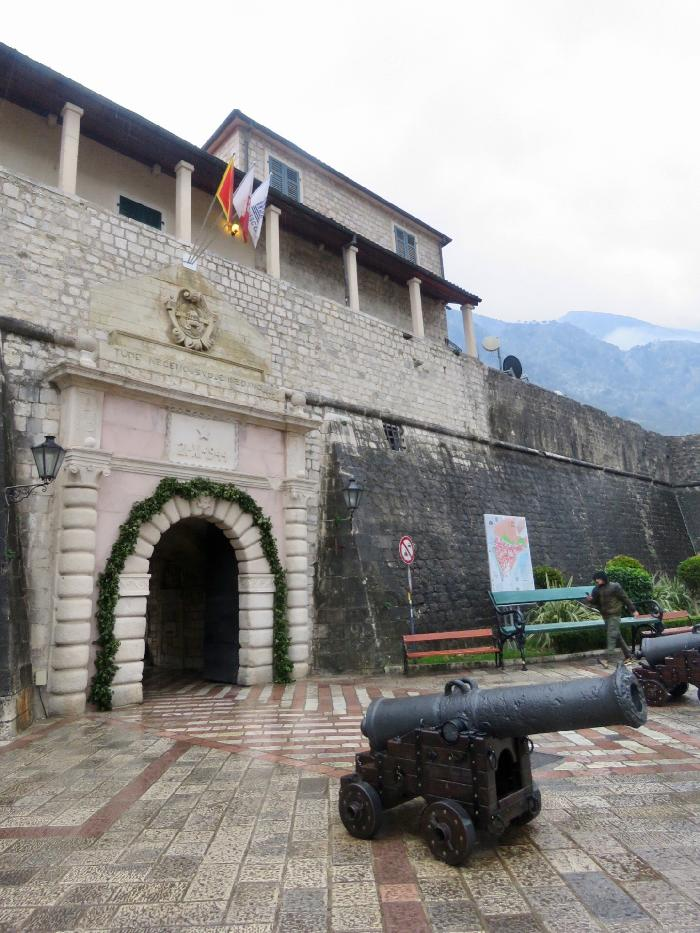 Gated Entrance into Old Town Kotor