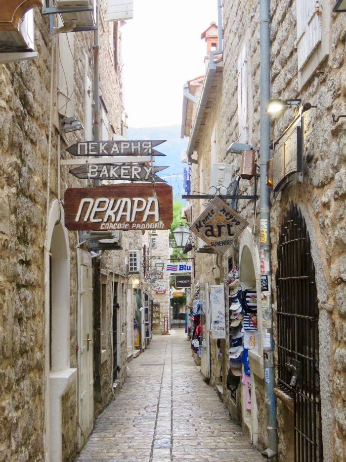 Strolling the Stone Streets of Old Town Budva