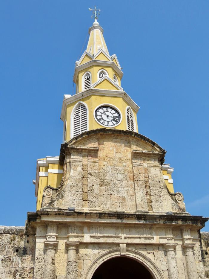 Cartagena's Iconic Clock Tower