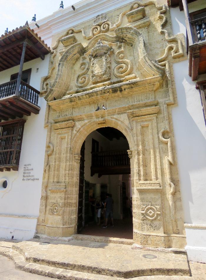 Cartagena's Palace of the Inquisition