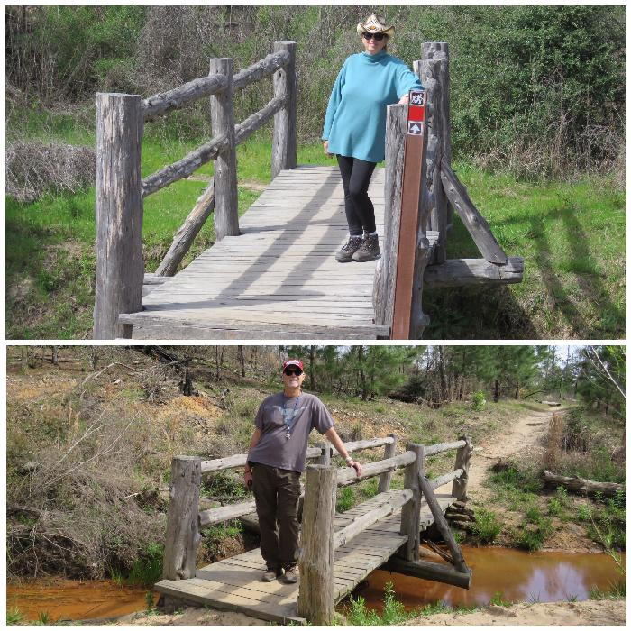 Crossing Bridges on the Scenic Overlook Hiking Trail