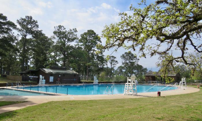 Swimming Pool managed by Bastrop YMCA