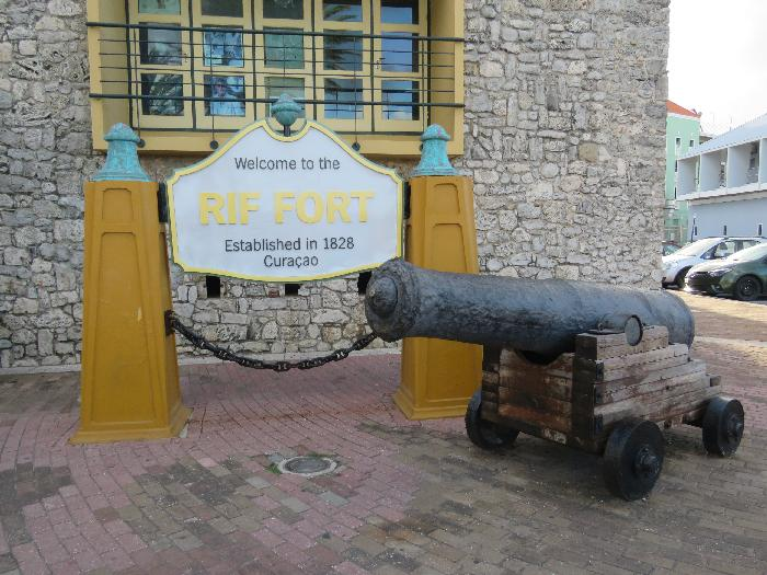 RIF Fort in Willemstad