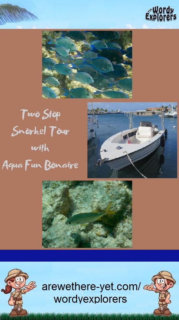 Two Stop Snorkel Tour with Aqua Fun Bonaire