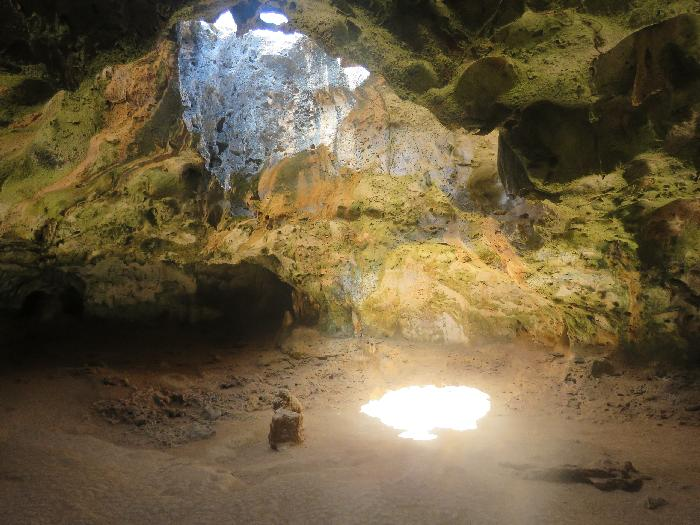 There's Daylight inside Quadirikiri Cave