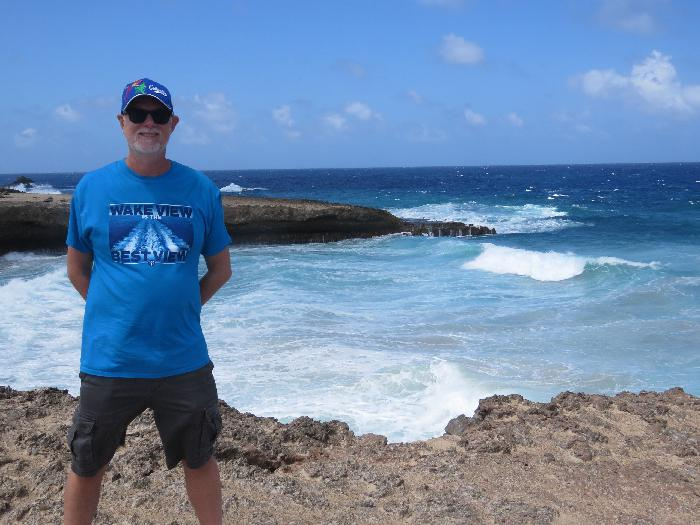 Scott at the Cliffs of Boca Prins
