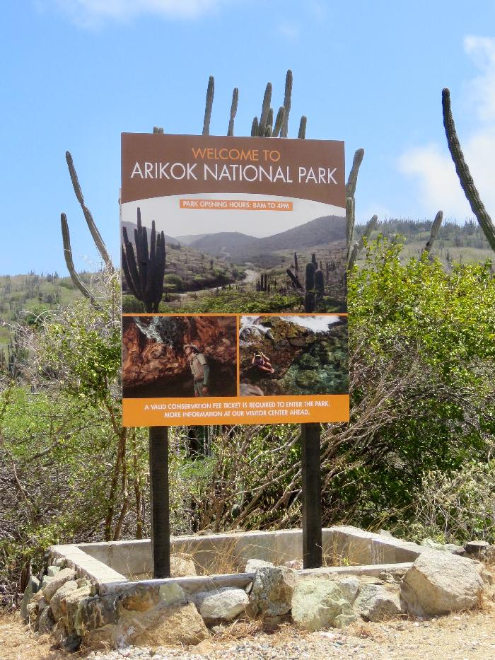 Entering Arikok National Park