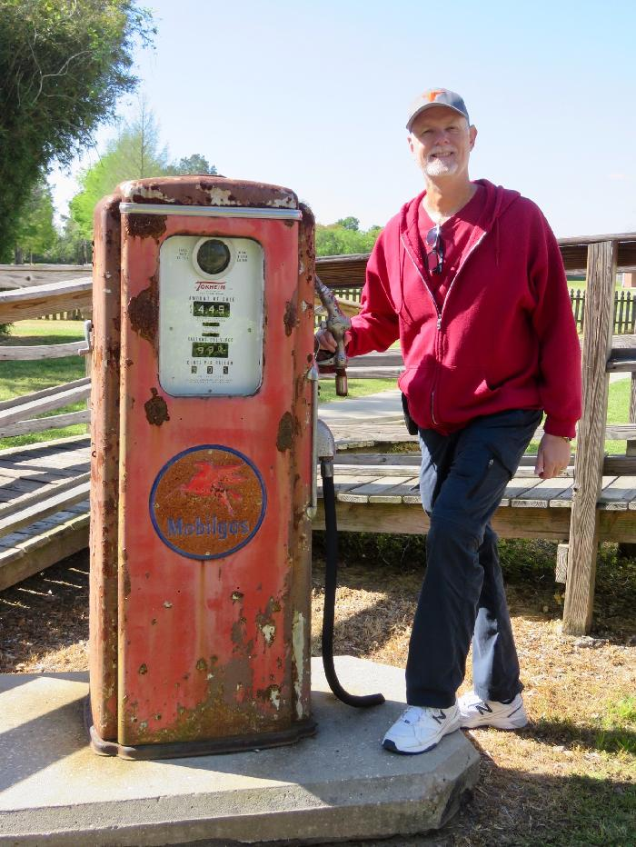Vintage Gas Pump - Need a Fill-up?