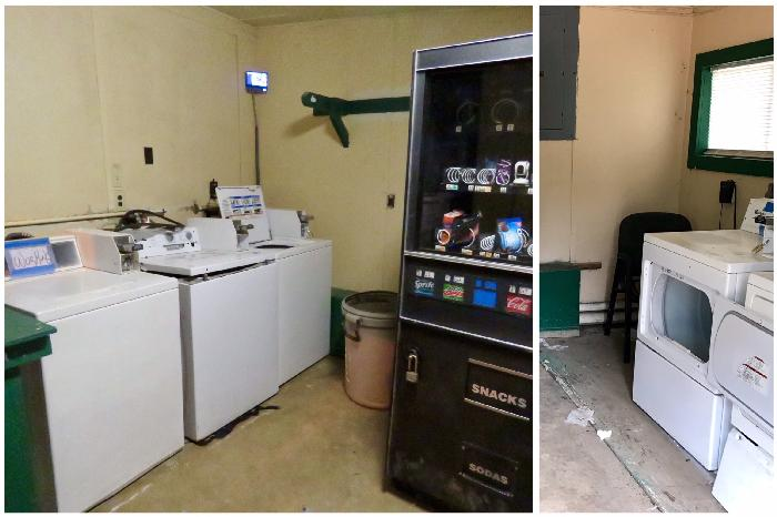 Laundry and Vending Machines at Plantation RV Park
