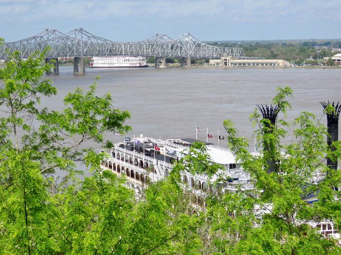 Mississippi River View from Rosalie