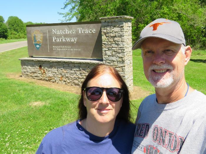 Obligatory National Park Photo at National Trace Parkway