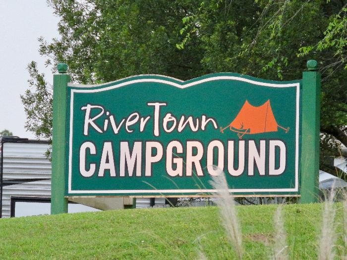 Entering River Town Campground