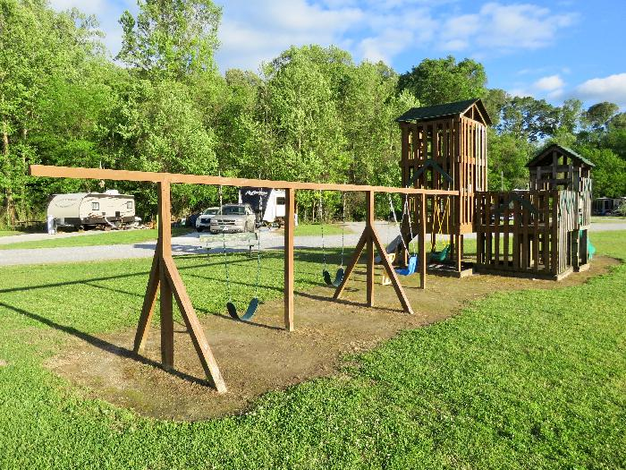 River Town Campground's Playground