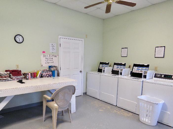 Laundry Room at River Town Campground
