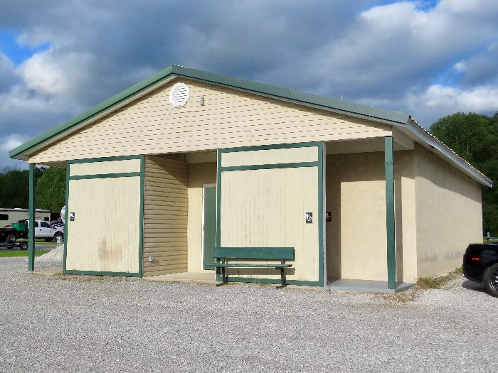 River Town Campground Bathhouse