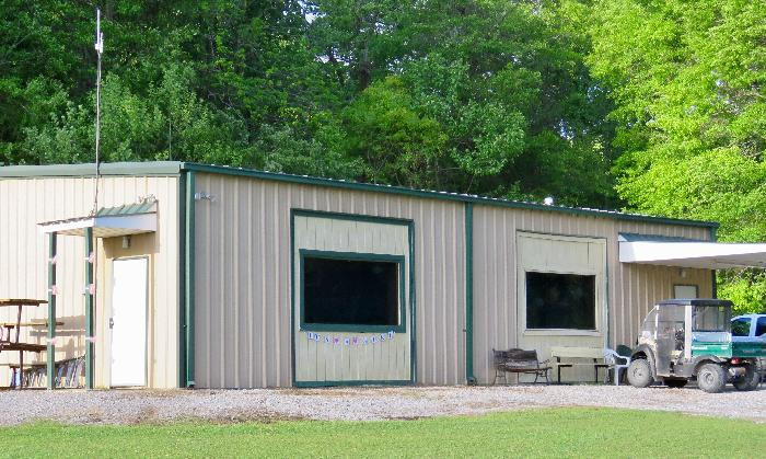 Reservable All Weather Pavilion at River Town Campground
