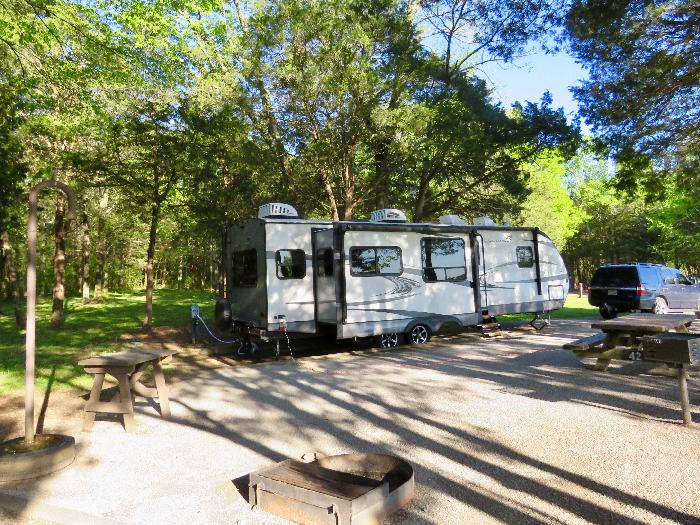 Review:  Seven Points Campground